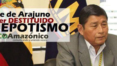 Se confirma la destitución del Alcalde de Arajuno