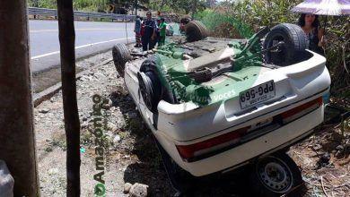 Accidente de Tránsito en la vía a Macas deja dos heridos