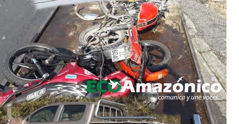 Vehículo del Ministerio de Educación ocasiona un accidente