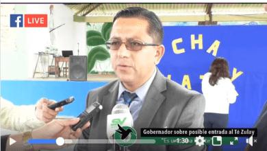 El Gobernador dice que no permitirá los enfrentamientos en Té Zulay