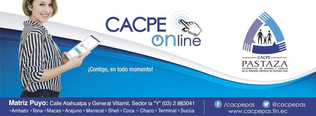 Publicidad CACPE Pastaza