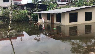 Se registra una inundación en una vivienda en Puyo