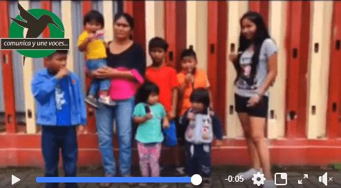 Carmen Santi , pide ayuda a la ciudadanía de Pastaza