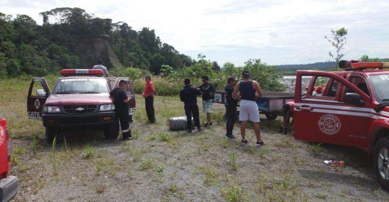Se localizó al cadáver del joven ahogado en el sector de Copataza