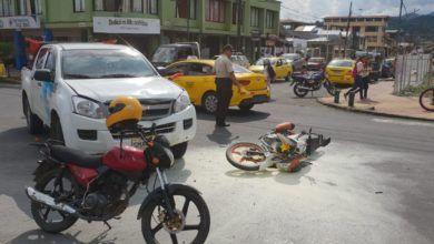 Accidente con un vehículo del Patronato Provincial de Pastaza