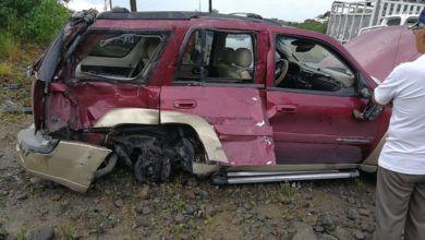 Accidente en el Dique del Pambay deja tres heridos