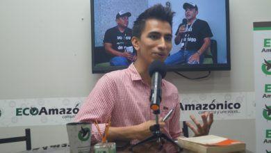 Leonardo Coloma, candidato para Alcalde de Puyo