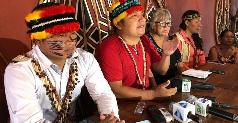 CONAIE apoya el paro en Cotopaxi