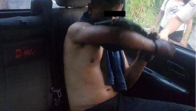 Policía detiene a un joven que robo una mujer taxista en Shell