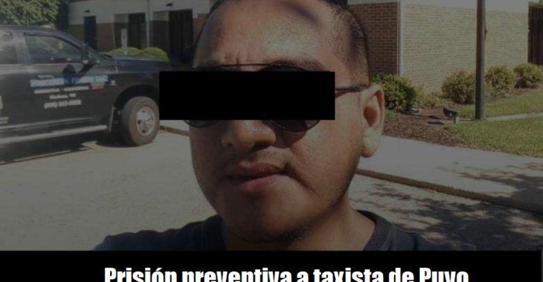 Prisión preventiva taxista de Puyo