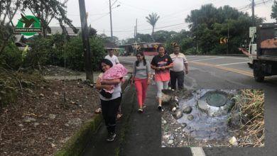 Colapsa el sistema de Alcantarillado de Veracruz