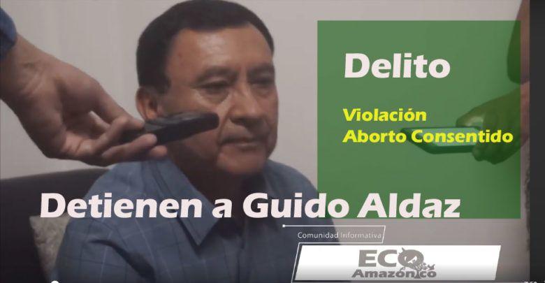 Detienen a Guido Aldaz en EE-UU