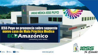 Comunicado del IESS sobre supuesta Mala Practica Médica