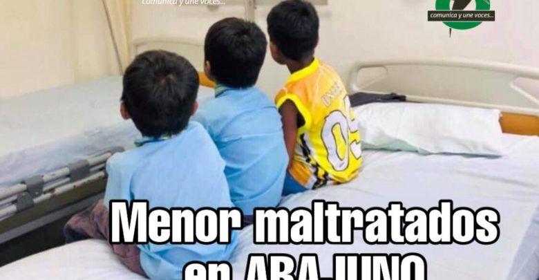 Menores rescatados de maltrato físico en Arajuno