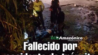 Fallecido en accidente de tránsito en Puyo