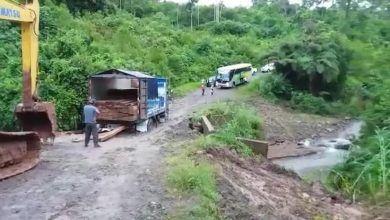 Denuncias Ciudadanas por supuesto mal trabajo en la vía a Chapinza