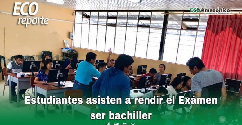 Jóvenes rindieron examen Ser Bachiller en Shell