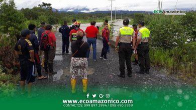 Bomberos de Mera informan sobre aluvión de Pastaza