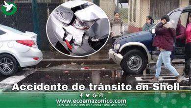 Accidente de tránsito en Shell