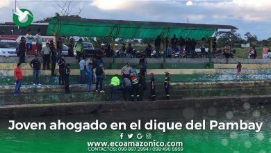 Adolescente muere ahogado en el dique del Pambay