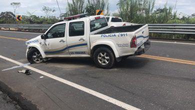 Operativo Policial de un robo en el km vía a Macas