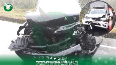 Accidente en el limite del cantón Pastaza deja dos heridos