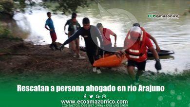 Nuevo ahogado en Pastaza esta vez en el río Arajuno