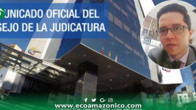 Presidenta del Consejo de la Judicatura suspendió a juez Aulerio Q.