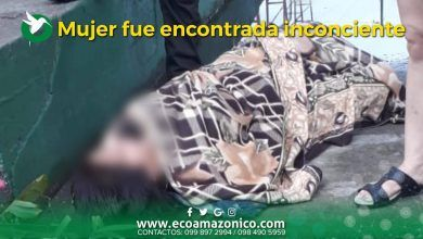 Mujer fue encontrada inconsciente en un barrio de Puyo