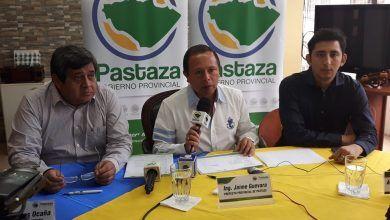 Rueda de prensa del Prefecto de Pastaza