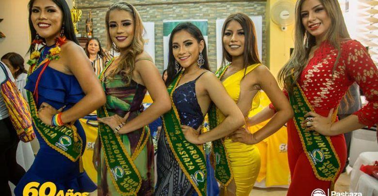 Presentación de las Fiestas y candidatas de Pastaza