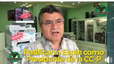 Espín ratificado como Presidente de la Cámara de Comercio de Pastaza