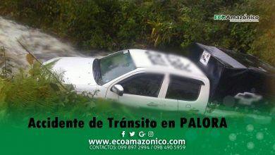 Accidente de Tránsito en Palora