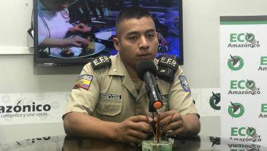 Con el candidato a Personaje del Año el Aspirante de Policía Jorge Luis Espinoza