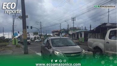 Pedido de arreglo de semafotos y Policías en la vía sector la Merced