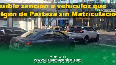 Vehículos que salgan fuera de Pastaza sin Matriculación podrían serán detenidos