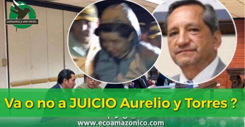 HOY SE CONOCERÁ SI LLAMARAN A JUICIO EN CONTRA DE AURELIO Q. Y BOLIVAR T.