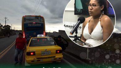 Denuncian mala actitud de una taxista de Puyo