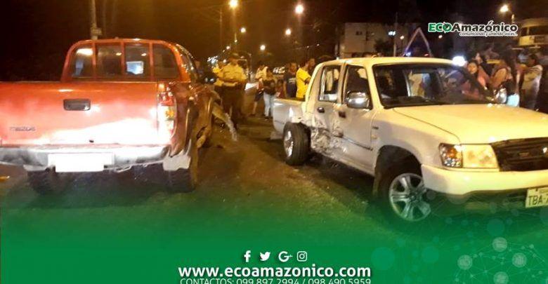 Accidente de tránsito en la entrada al Barrio la Merced