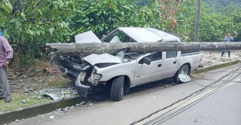 Accidente de tránsito Arosemena Tola