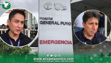Atención de los Bomberos y Hospital Puyo en le caso de la menor arrollada por una Alpayan