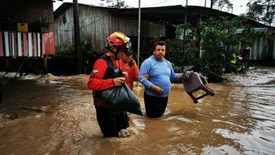 Comandante de Bomberos sobre las inundaciones en Puyo