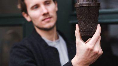 Dile hola a las tazas hechas con residuos de café y despídete del plástico