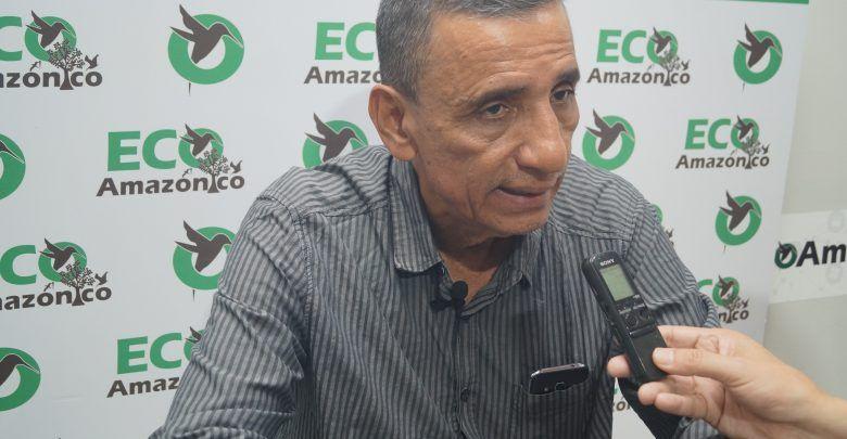 Hugo Cedeño defiendo el Plan Maestro de Alcantarillado