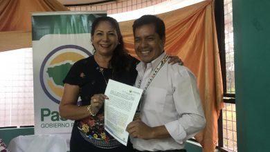 Patronato firmó convenio con los presidentes de los Gobiernos Parroquiales
