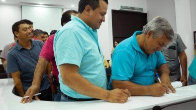 Transportistas expresaron respaldo irrestricto al Alcalde .