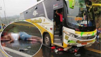 Fatal accidente de tránsito en la vía Puyo Macas