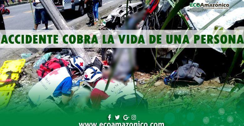 Un fallecido y varios heridos en accidente de tránsito sector del río Sandalias