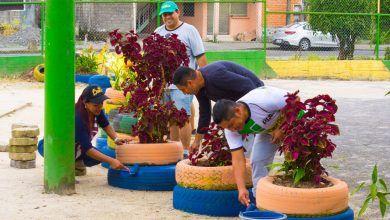 Minga de limpieza cambia imagen del barrio Amazonas