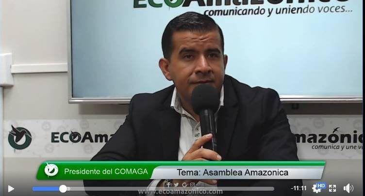 Presidente del COMAGA Andrés Bonilla